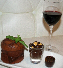 choc and red wine