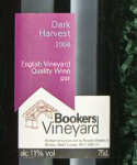 Bookers English wine