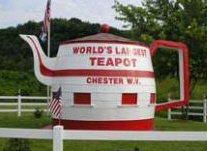 World's Largest Teapot, USA